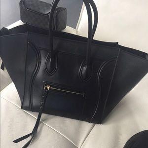 77% off Celine Handbags - Black Celine phantom bag from Jessica\u0026#39;s ...
