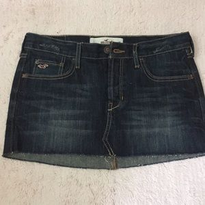 Hollister Dresses & Skirts - Hollister denim skirt