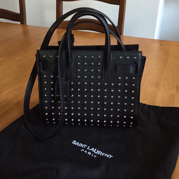 208549767ba Yves Saint Laurent Bags | Soldysl Mini Sac De Jour Bag | Poshmark