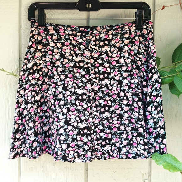 Useful H m floral skirt