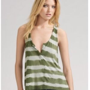 Patterson j Kincaid Tops - Patterson J Kinkaid zip back tie dye tank