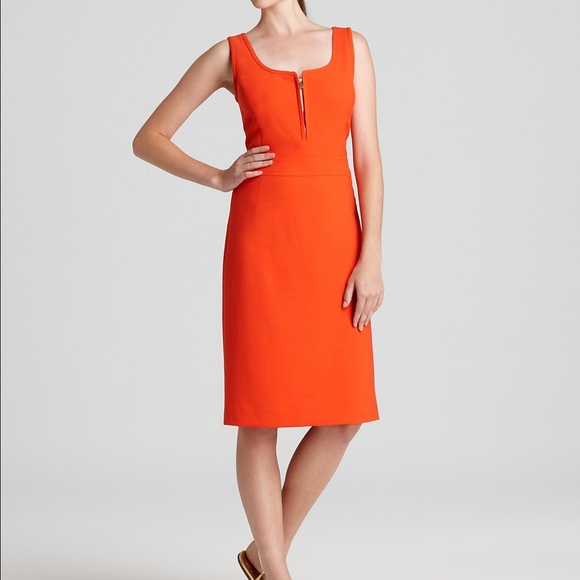 Tory Burch Dresses Orange Zachary Shift Dress Poshmark