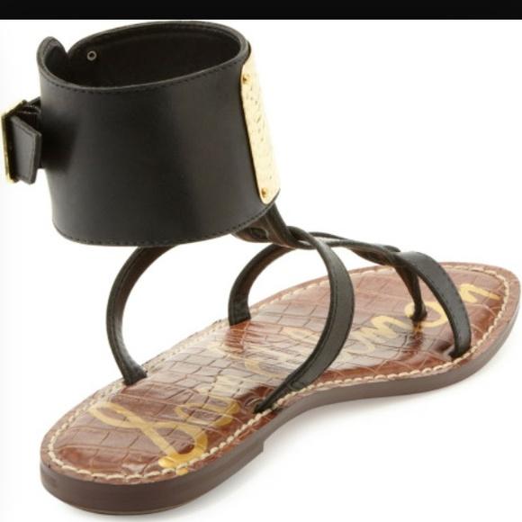 60 Off Sam Edelman Shoes Genette Ankle Cuff Gladiator