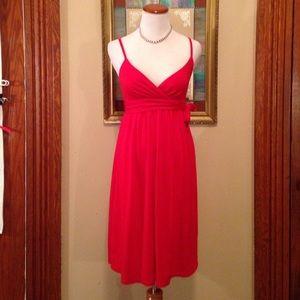 🌹Host Pick🌹American Eagle simple red sun dress