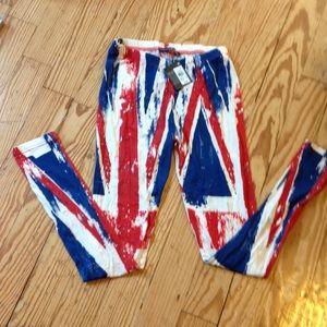 Primark Pants - British flag inspired leggings