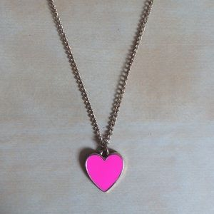 ban.do Jewelry - Ban.do Pink Heart Pendant Necklace