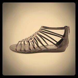 Fergie Shoes - Fergie Black Gladiator Sandals Size 6