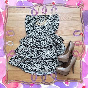 Dresses & Skirts - 🌟HP 7/24🌟Cheetah Print Dress