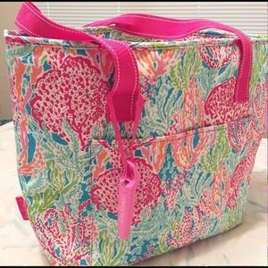 Let's Cha Cha Lilly Pulitzer beach cooler
