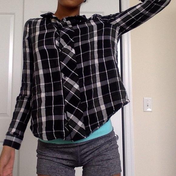 86 off zara tops zara plaid shirt from sassy 39 s closet on poshmark. Black Bedroom Furniture Sets. Home Design Ideas
