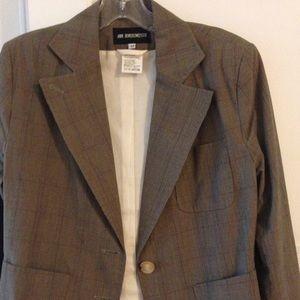 Ann Demeulemeester Jackets & Blazers - Ann Demeulemeester plaid blazer size 42