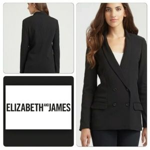 ELIZABETH AND JAMES BLACK AGNES BLAZER NWOT
