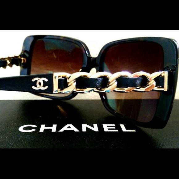 2a6666e7f50c CHANEL Accessories - Classic Chanel Chain Sunglasses Model 5208Q