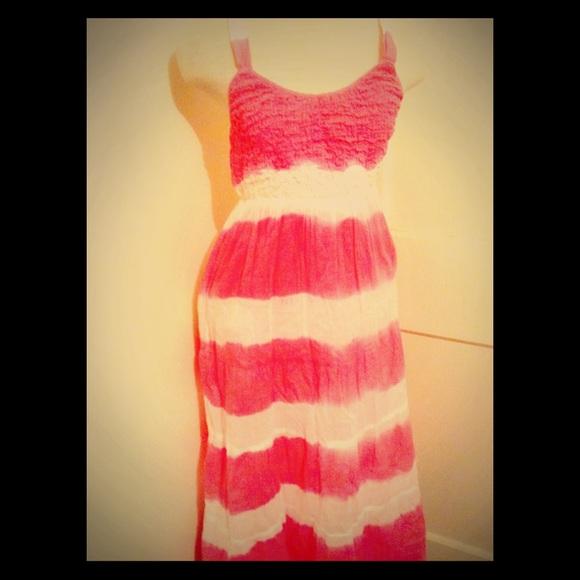 Black And White Dip Dye Dip Dye Ombré Pink/white