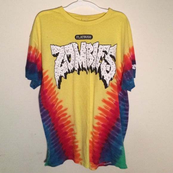 38 Off Flatbush Merch Tops Flatbush Zombies Tie Dye T
