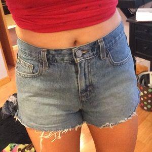 Brandy Melville Denim - High waisted vintage denim shorts
