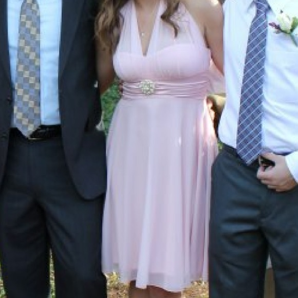 David\'s Bridal Dresses | Light Pink Bridesmaid Dress | Poshmark