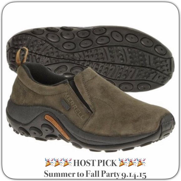 favorable price arriving sells Merrell Women's Jungle Moc Waterproof SlipOn Shoes