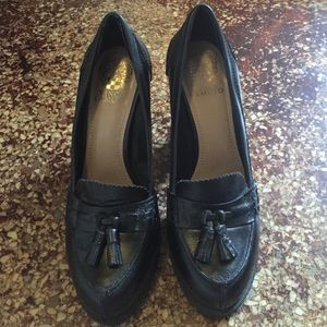 Vince Camuto heel loafers