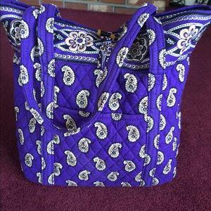 NWT Vera Bradley tote in simply violet