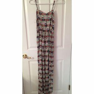 Francesca's Aztec Maxi Dress