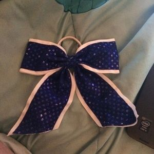 Blue Cheer Bow from Claires