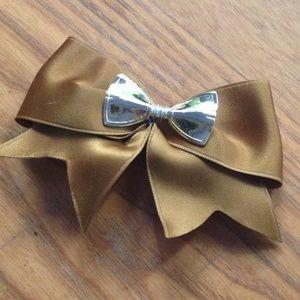 💥4 for $10 💥 Barrette Ribbon Bow