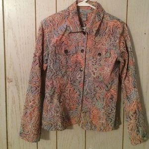 Analogy Embroider  floral jacket