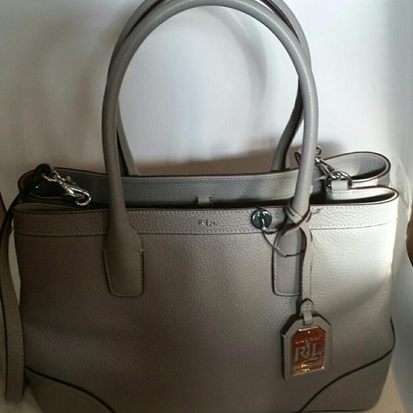 Ralph Lauren Bags   Dove Grey City Shopper   Poshmark 5b3f17749c4