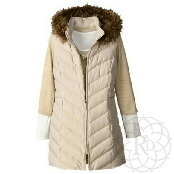 c25472beb Coldwater Creek Jackets & Coats | Lowest Price Long Quilted Vest ...