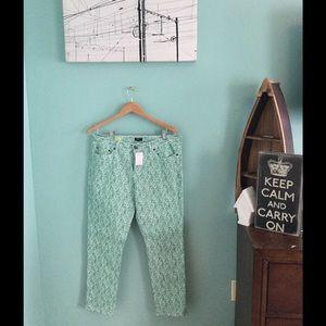 Brand New J.Crew Floral Pants