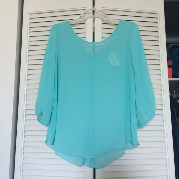 55 off forever 21 tops forever 21 turquoise chiffon