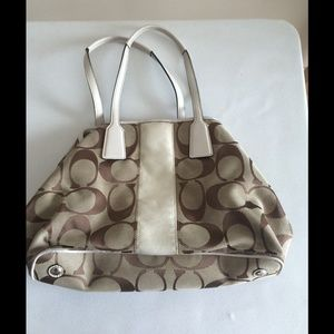 🔴CLEARANCE🔴 Coach Brown Logo Bag