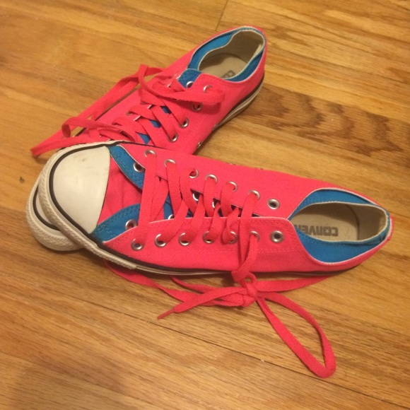 62 converse shoes neon pink converse from beki s