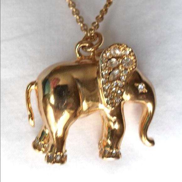 Ann taylor elephant pendant necklace gold 32l new poshmark ann taylor elephant pendant necklace gold 32l new aloadofball Choice Image