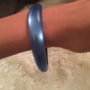Alexis bittar lucite blue bangle