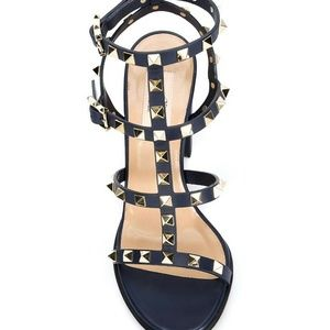 Valentino Shoes - Authentic Valentino Garavani Rockstud Sandals