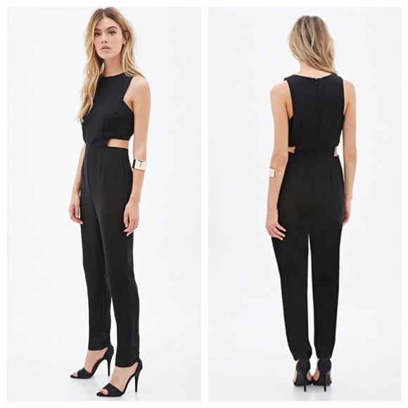 Collection Black Jumpsuit Romper Pictures - Reikian