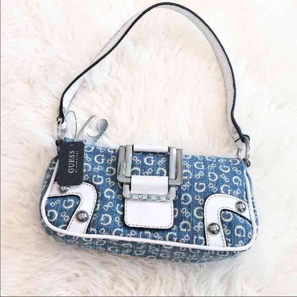 cfffaaa6652 Guess Bags   Nwt Small Jean Denim Purse   Poshmark