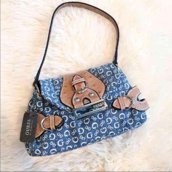 NWT GUESS mini denim purse. Listing Price   13. Your Offer 06fbc99bfb181