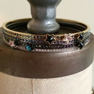 Swarovski Jewelry - Set of 3 Swarovski Sultan Star Bangles