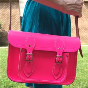 Cambridge Satchel Handbags - 🎉HOST PICK 🎉Cambridge Satchel Company Fluoro
