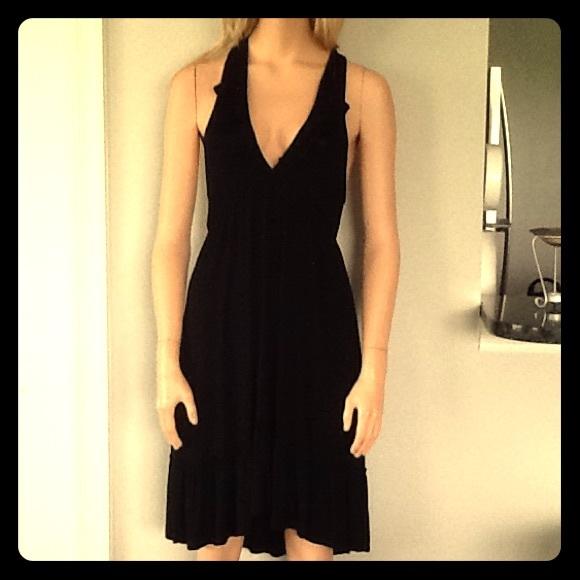 c115077faf Elan Dresses | Cute Black Halter Dress Or Swimsuit Cover Up | Poshmark