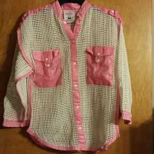 Insanely adorable cover up shirt/jacket