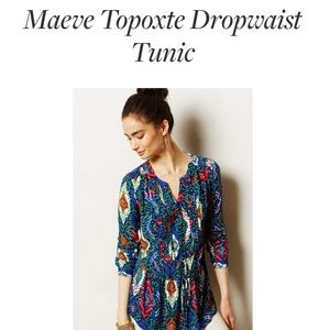 Anthropologie Tops - 🆕LISTING! MAEVE For Anthro drop waist tunic