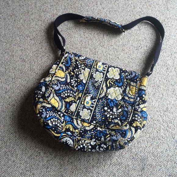 Vera Bradley Bags Messenger Style Diaper Bag Poshmark