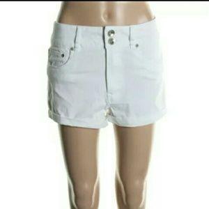 Dollhouse Pants - Dollhouse White Shorts $34 NEW Jean Denim
