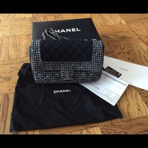 100% Authentic Chanel Tweed Bag