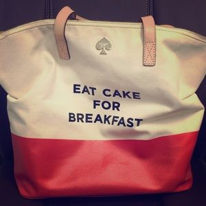 Kate Spade Eat Cake for Breakfast with dust bag