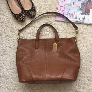 Coach tote shoulder bag